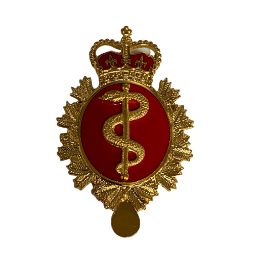 Canadian Armed Forces Medical Service Cap Badge