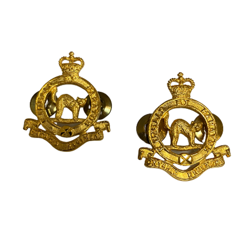 Canadian Armed Forces - The ONTARIO Regiment Collar Pins (Pair)