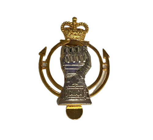 Royal Canadian Armored Corps Cap Badge
