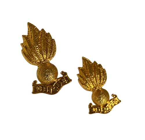 Canadian Armed Forces Fusiliers Collar Badge (Pair)