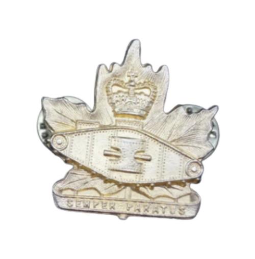 Canadian Armed Forces Windsor Regiment Collar Badge (Single)