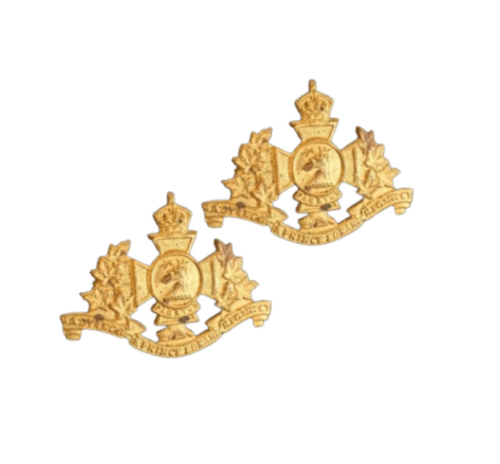 Hastings and Prince Edward Regiment Collar Badge (Pair)