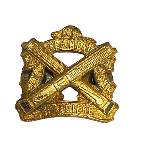 Canadian Armed Forces Chaudière Regiment Collar Badge (Single)