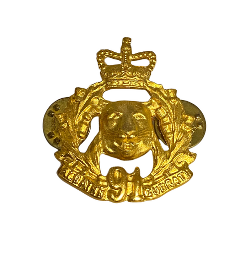 Canadian Armed Forces Argyll and Sutherland Highlanders Collar Badge (Single)