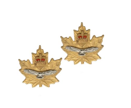 Cadet Instructor Air Force Collar Badge (Pair)