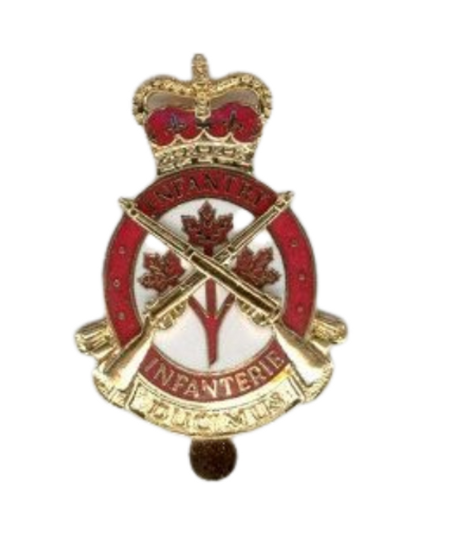 Canadian Armed Forces Infantry Cap Badge