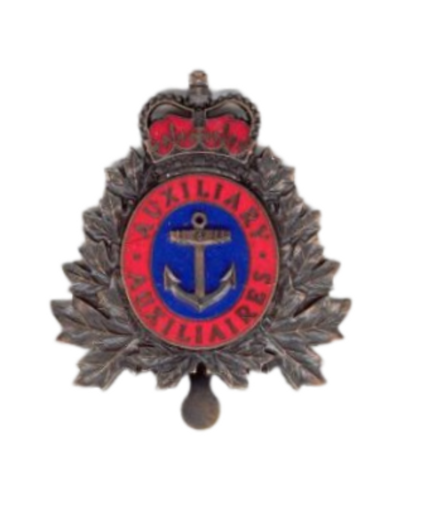 Canadian Armed Forces Naval Auxiliary Vessel (Crew) Cap Badge