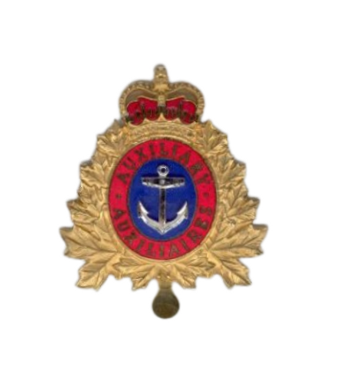Canadian Armed Forces Naval Auxiliary Vessel (Officer) Cap Badge