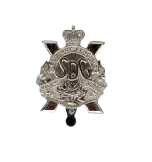 Canadian Armed Forces Stormant, Dundas & Glengarry Highlanders Cap Badge