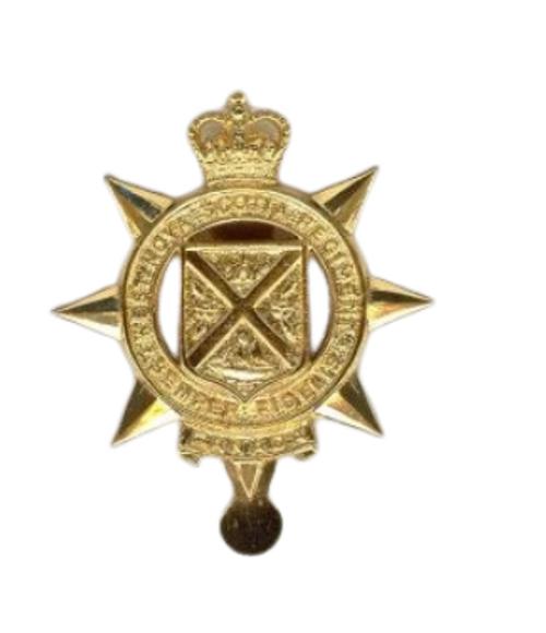 Canadian Armed Forces The West Nova Scotia Regiment Cap Badge