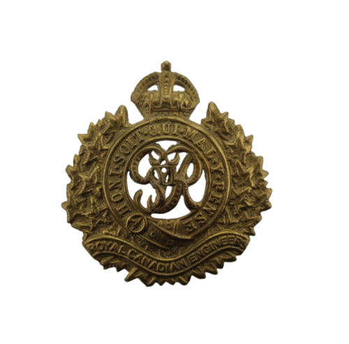 Royal Canadian Armed Forces Engineers Cap Badge