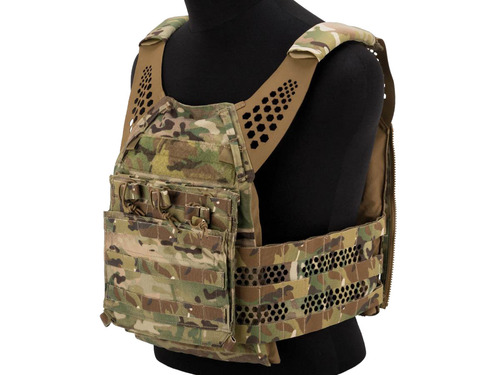 Eagle Industries Tactical Ultra Low-Vis Plate Carrier w/ Removable Front Flap (Color: Multicam)