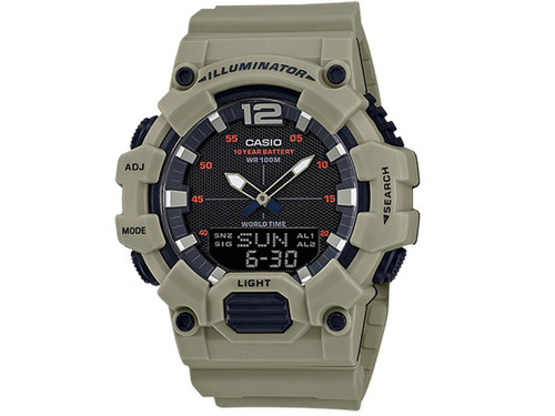Casio HDC700 Men's Analog-Digital World Time Watch