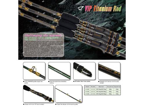 Jigging Master V.I.P Titanium 60B Jigging Rod