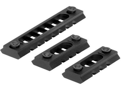 Trinity Force Lightweight M-LOK Rail Segments - Set of 3