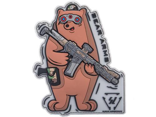 "Strike Industries ""Bear Arms"" PVC Morale Patch"