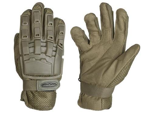 Matrix Full Finger Tactical Gloves - Tan
