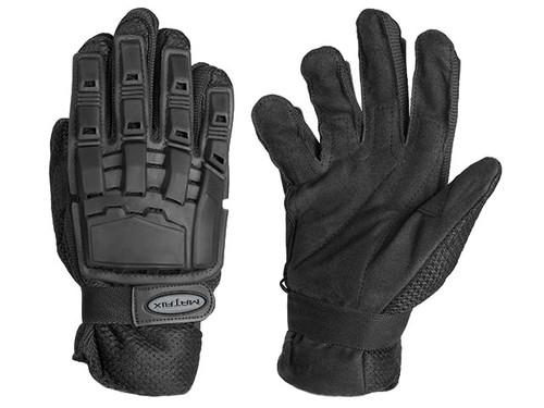 Matrix Full Finger Tactical Gloves (Color: Black)
