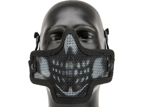 Kilo 2G Mesh Half Face Mask By Valken