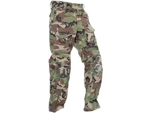 Valken Combat Tango Down Pants - Woodland (Size: Small)