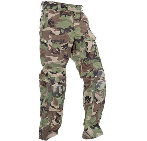 Valken Combat Tango Down Pants - Woodland (Size: X-Large)
