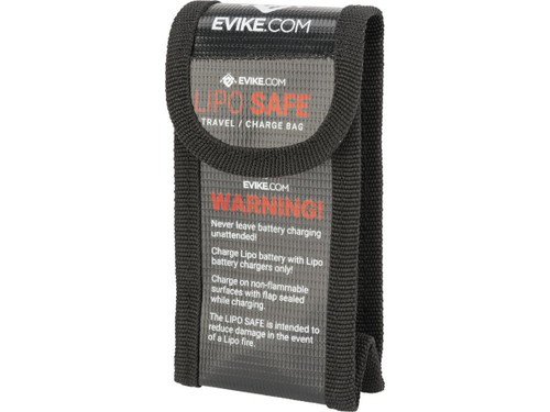 Evike.com Lipo Safe Charging and Travel Bag for Lithium Polymer Batteries (Size: Small)