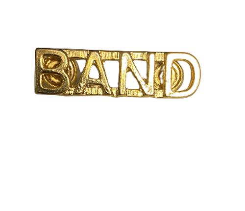 Canadian Armed Forces Band Shoulder Title Badge (Single)