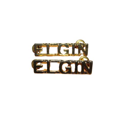 Canadian Armed Forces Elgin Shoulder Title Badge (Pair)