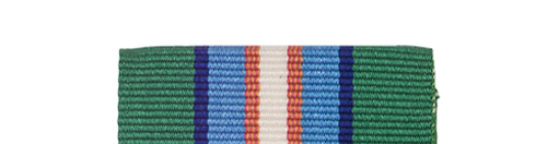 Canadian Armed Forces UN Transitional Authority Slide Medal Bar
