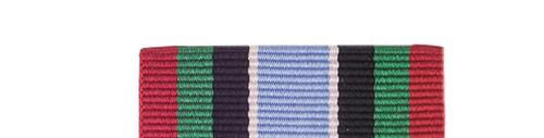 Canadian Armed Forces UN Assistance Mission in Rwanda Slide Medal Bar