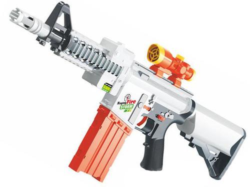 Blaze Storm Foam Blaster Semi Auto Soft Dart Rifle