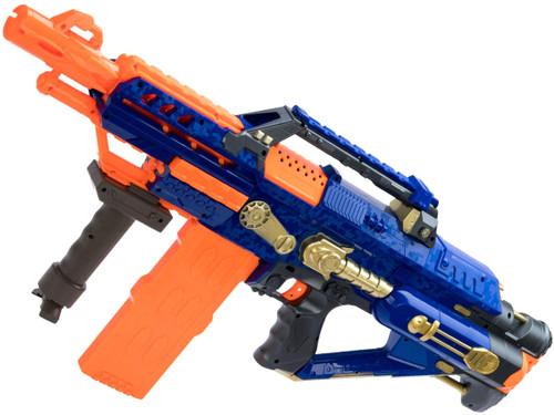 Blaze Storm 7052 Foam Blaster Full Auto Electric Foam Dart Rifle