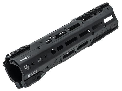 "Strike Industries ""GridLok"" MLOK Free Float Aluminum Handguard for AR15 Rifles (Color: Black)"