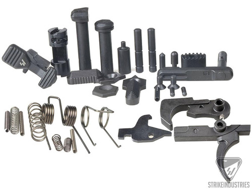 Strike Industries AR Enhanced Lower Receiver Parts Kit (Type: With Trigger Hammer Disconnector)