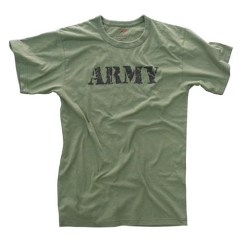 Vintage T-Shirt Army - Olive Drab