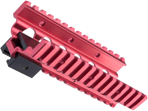 Creation Airsoft Aluminum CNC RIS Lower Handguard for M249 Series Airsoft AEG Machine Guns