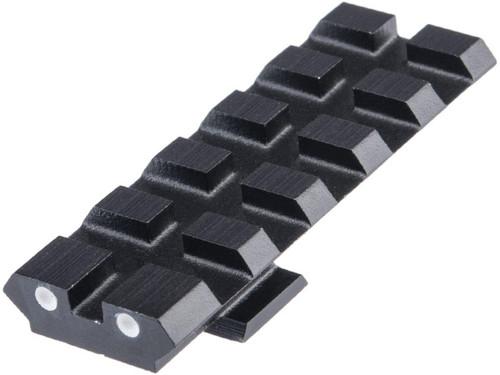 Creation Airsoft CNC Aluminum Rear Sight Scope Rail for Tokyo Marui M&P9 GBB Pistols