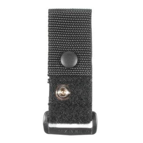 Bhle Molded Belt Keepers 4/Pkg Black