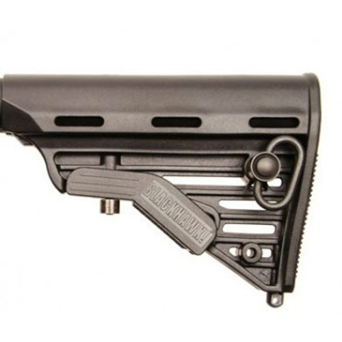 AR/M4 Rear Adj Stock Commercial 5 Position Black