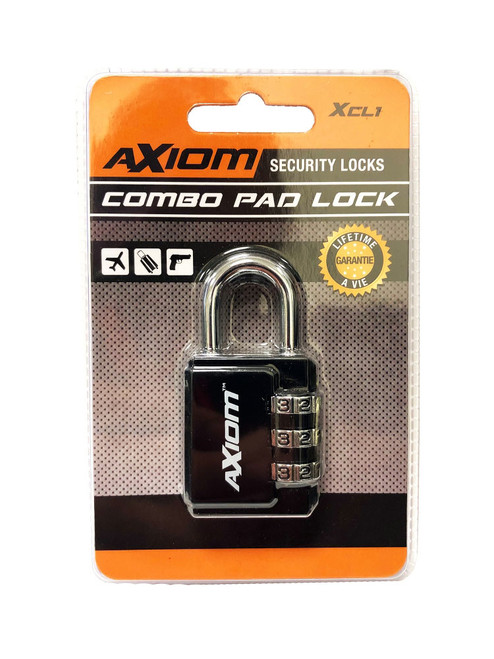 Axiom 30MM 3 Dial Luggage Lock