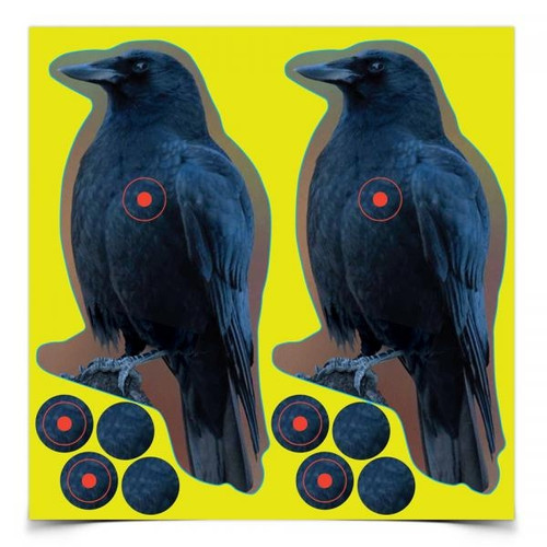 Shoot-N-C Crow Target 12/Pkg