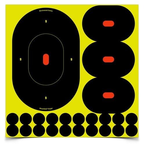 9' Oval Shoot-N-C B27 Target 5/Pkg
