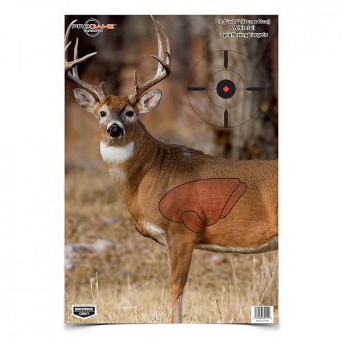 Pregame Splattering Deer Target 3/Pkg