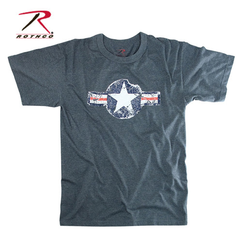 Vintage T-Shirt Army Air Corp - Blue