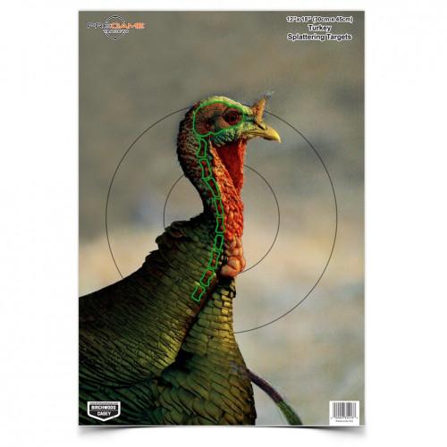 Pregame Splattering Turkey Target 8/Pkg
