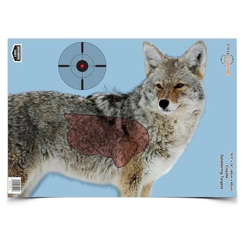Pregame Splattering Coyote Target 3/Pkg