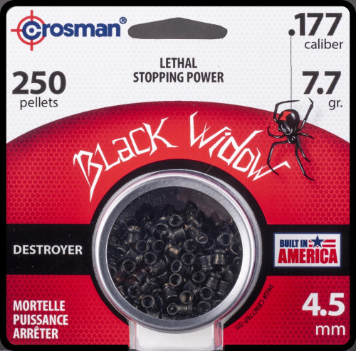 Premier .177 Black Widow Pellets 250 Per/Pkg