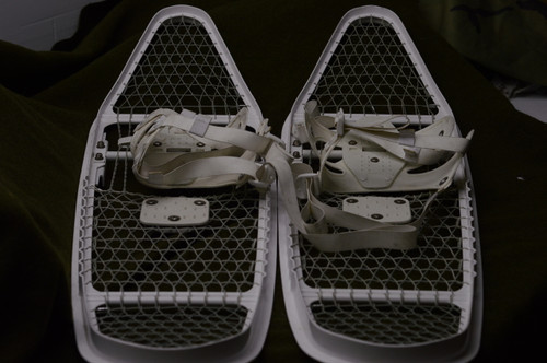 Canadian Armed Forces Ovular Snowshoes (Damaged)