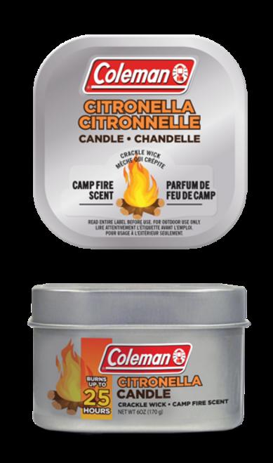 Citronella Campfire Scented Tin Candle 25 Hour