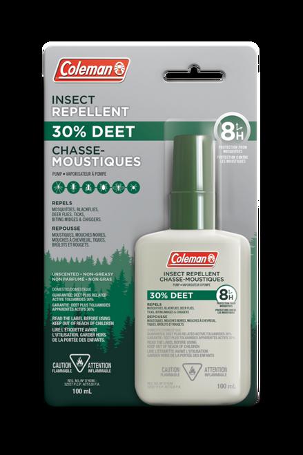 30% Deet Liquid Pump Insect Repellent 100ml